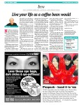 Live your life as a coffee bean would dated – My Paper 4 July2008